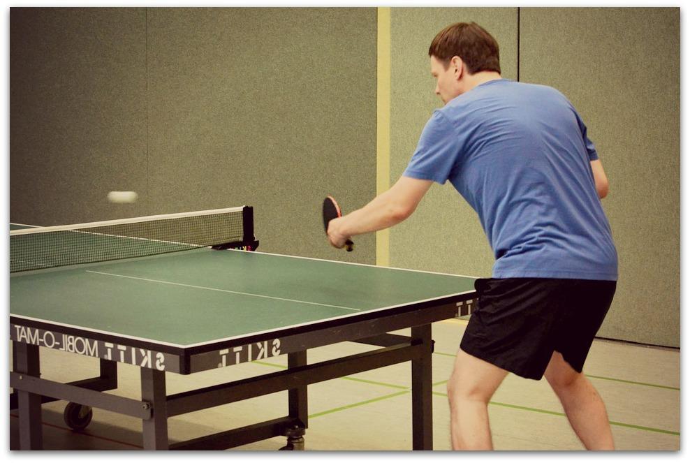 Craquez pour une table de tennis de table