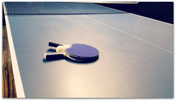 Zoom sur les différentes tables de tennis de table